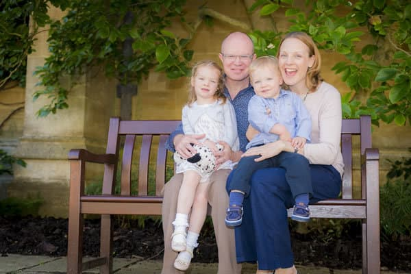 Family photoshoot Oxfordshire