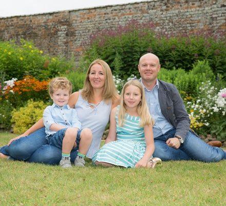 Family portrait photographer Wantage