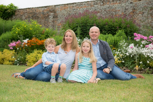 Family portrait photographer Wantage