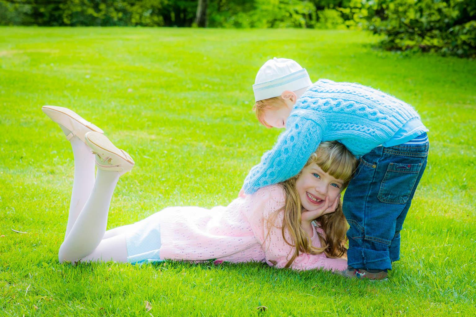 Give your sister a hug