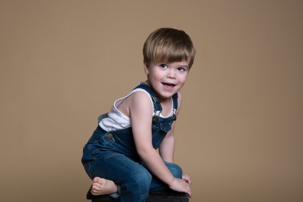 Kids portrait photoshoot