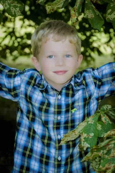 Children's outdoor portrait photography Bicester