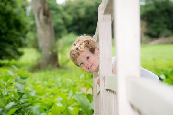 Outdoor childrens photoshoot Witney