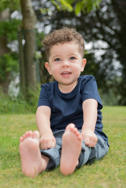 Outdoor toddler portrait photographer Bicester