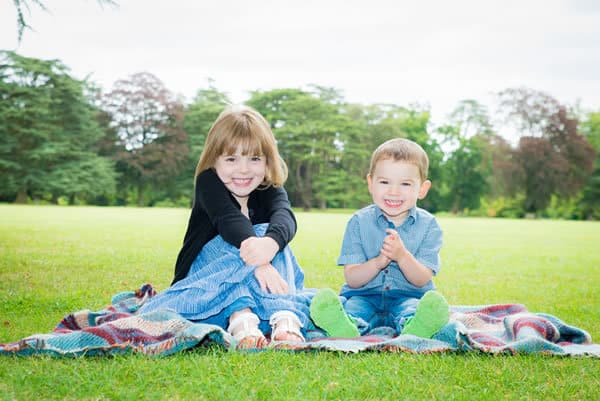 Professional children's portrait photographer Oxfordshire