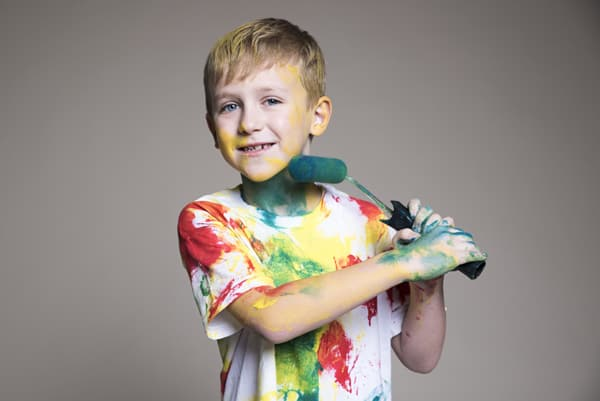 Paint splash photoshoot Bicester