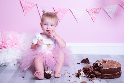Cake smash photoshoot Bicester
