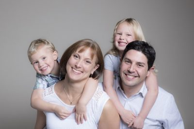 Family portrait studio Oxford