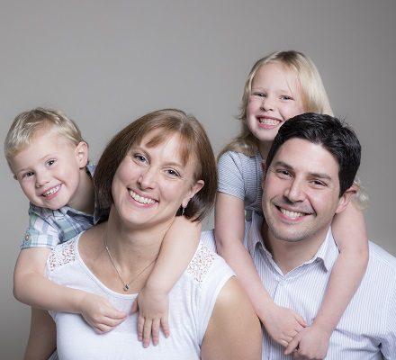 Family portrait studio Oxford