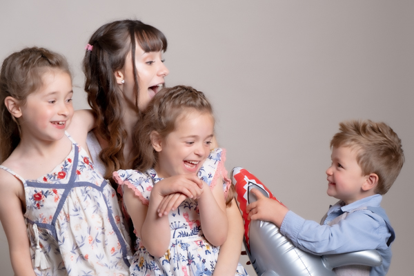 Fun family and childrens portrait photography Witney Oxfordshire