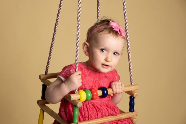 Baby girl photoshoot